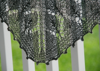 Lace Shawl in Gotland Yarn